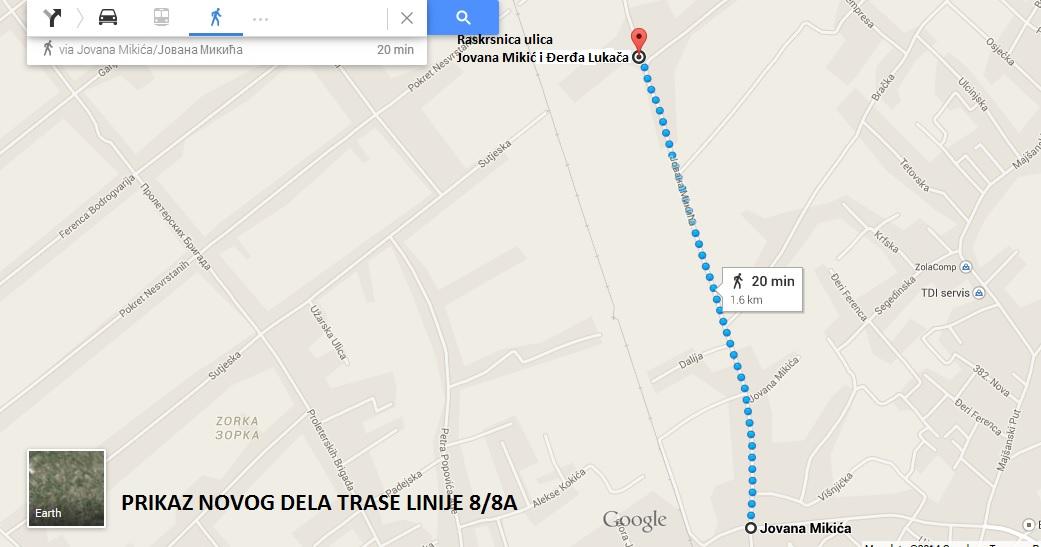 Produzenje Linija 2 2a 8 8a I 9 Jp Subotica Trans